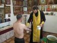 В ИК-8 проведен обряд крещения