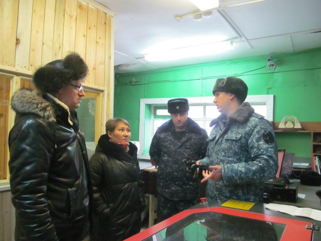 Посещение ИК представителями ОНК и прокуратуры